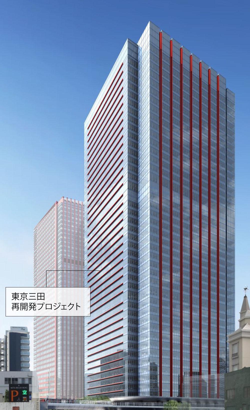 東京三田再開発プロジェクト/minato